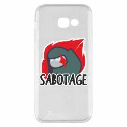 Чохол для Samsung A5 2017 Among Us Sabotage