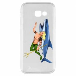 Чехол для Samsung A5 2017 Aquaman with a shark