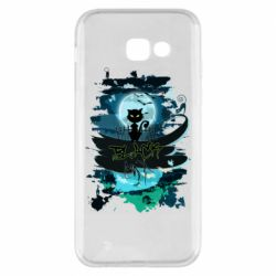 Чехол для Samsung A5 2017 Black cat art