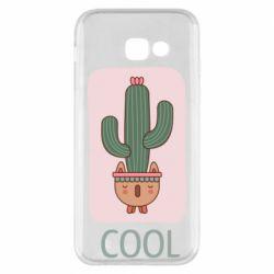 Чехол для Samsung A5 2017 Cactus art