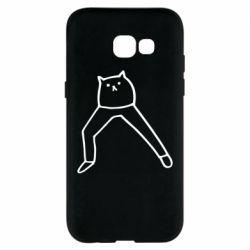 Чохол для Samsung A5 2017 Cat in pants