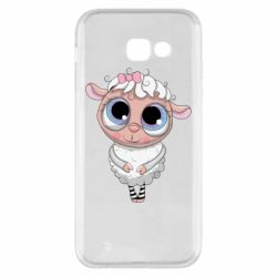 Чехол для Samsung A5 2017 Cute lamb with big eyes