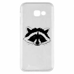 Чохол для Samsung A5 2017 Cute raccoon face