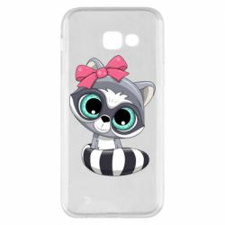 Чехол для Samsung A5 2017 Cute raccoon