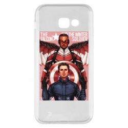 Чохол для Samsung A5 2017 Falcon and the Winter Soldier Art