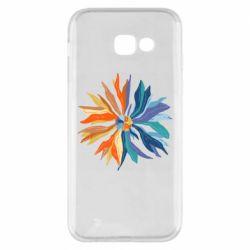 Чохол для Samsung A5 2017 Flower coat of arms of Ukraine