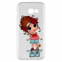 Чехол для Samsung A5 2017 Girl with big eyes