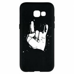 Чехол для Samsung A5 2017 HEAVY METAL ROCK
