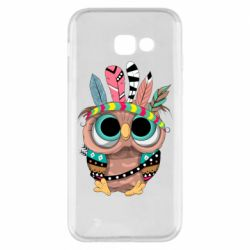 Чохол для Samsung A5 2017 Little owl with feathers