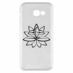 Чохол для Samsung A5 2017 Lotus yoga