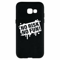 Чохол для Samsung A5 2017 No Risk No Fun