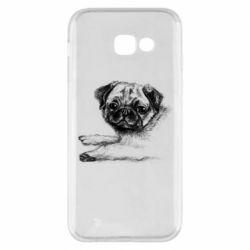 Чохол для Samsung A5 2017 Pug drawing