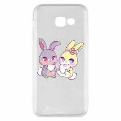Чохол для Samsung A5 2017 Rabbits In Love
