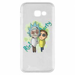 Чохол для Samsung A5 2017 Rick and Morty voodoo doll