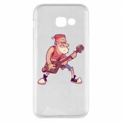 Чохол для Samsung A5 2017 Rock'n'roll Santa