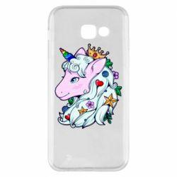 Чохол для Samsung A5 2017 Unicorn Princess