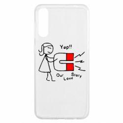 Чохол для Samsung A50 Our love story2