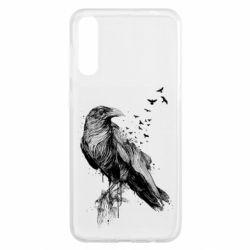 Чохол для Samsung A50 A pack of ravens