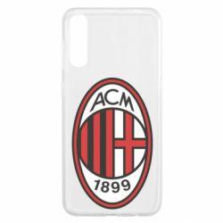 Чохол для Samsung A50 AC Milan