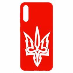 Чохол для Samsung A50 Acute coat of arms of Ukraine
