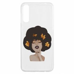 Чохол для Samsung A50 Afro girl in autumn shades