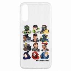 Чохол для Samsung A50 Apex legends heroes