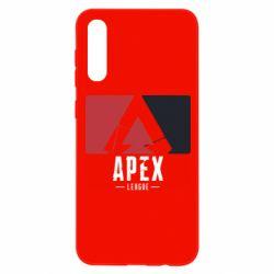 Чохол для Samsung A50 Apex red-black