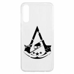 Чохол для Samsung A50 Assassin's Creed and skull 1