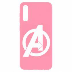Чохол для Samsung A50 Avengers logo