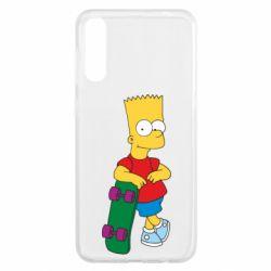 Чохол для Samsung A50 Bart Simpson