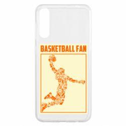 Чохол для Samsung A50 Basketball fan