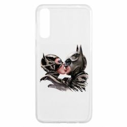 Чохол для Samsung A50 Batman and Catwoman Kiss