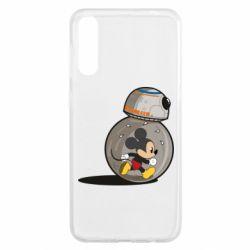 Чохол для Samsung A50 BB-8 and Mickey Mouse