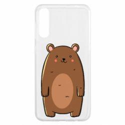 Чехол для Samsung A50 Bear with a smile