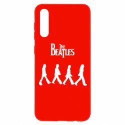 Чохол для Samsung A50 Beatles Group