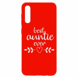Чохол для Samsung A50 Best auntie ever