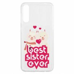 Чохол для Samsung A50 Best sister ever
