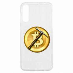Чохол для Samsung A50 Bitcoin Hammer
