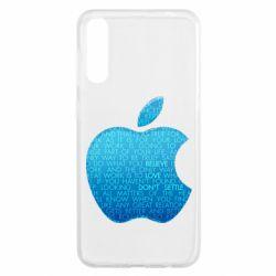 Чохол для Samsung A50 Blue Apple