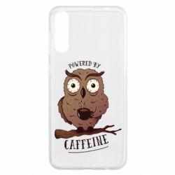 Чохол для Samsung A50 Caffeine Owl