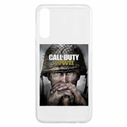 Чохол для Samsung A50 Call of Duty WW2 poster