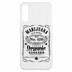 Чохол для Samsung A50 Cannabis label