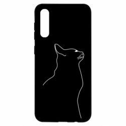 Чохол для Samsung A50 Cat line