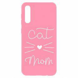 Чохол для Samsung A50 Cat mom