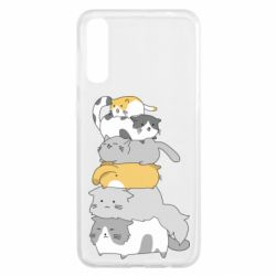 Чохол для Samsung A50 Cats
