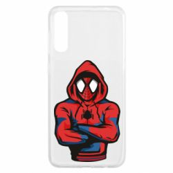 Чохол для Samsung A50 Людина павук в толстовці
