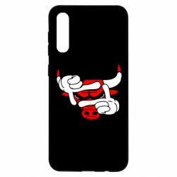 Чехол для Samsung A50 Chicago Bulls бык