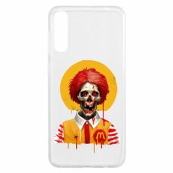 Чохол для Samsung A50 Clown McDonald's skeleton