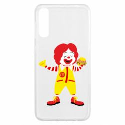 Чохол для Samsung A50 Clown McDonald's