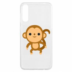 Чохол для Samsung A50 Colored monkey